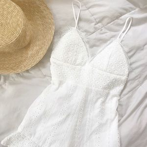 Pants - White Romper